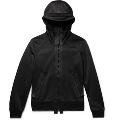 TOM FORD - Oversized Fleece-Back Cotton-Jersey Zip-Up Hoodie