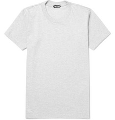 TOM FORD Slim-Fit Mélange Cotton-Jersey T-Shirt