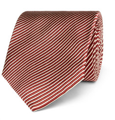 TOM FORD 8cm Striped Silk Tie