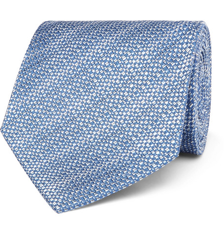 8cm Textured Silk Tie by Tom Ford