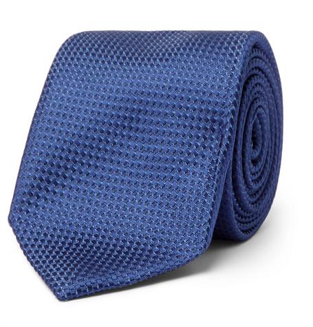 8cm Silk And Cotton-blend Jacquard Tie
