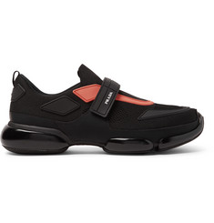 Prada Cloudbust Mesh and Rubber Sneakers
