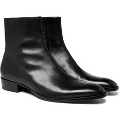 Saint Laurent - Wyatt Leather Chelsea Boots