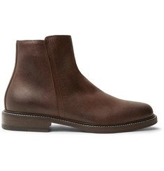 Brunello Cucinelli Leather Boots