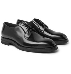 Brunello Cucinelli - Polished-Leather Derby Shoes