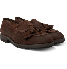 Brunello Cucinelli - Suede Tasselled Loafers