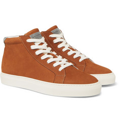 Brunello Cucinelli - Nubuck High-Top Sneakers