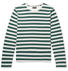 Joseph Striped Cotton-Jersey T-Shirt