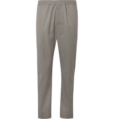 Joseph Ettrick Puppytooth Stretch-Knit Drawstring Trousers