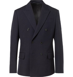 Stella McCartney - Charles Slim-Fit Double-Breasted Wool Jacket