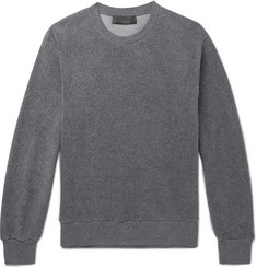 Stella McCartney Ian Textured Cotton-Blend Sweatshirt
