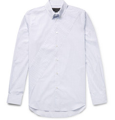 Stella McCartney - Riley Slim-Fit Button-Down Collar Checked Organic Cotton-Poplin Shirt