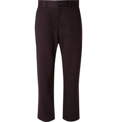 Studio Nicholson Bill Tapered Brushed Cotton-Twill Trousers