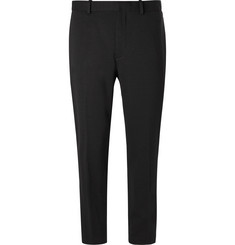Theory Logan Tapered Stretch-Jersey Trousers