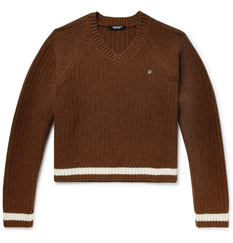 Ribbed Wool Sweater by Undercover