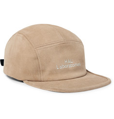 Undercover Embroidered Suede Baseball Cap