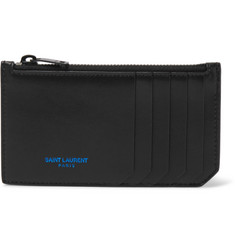 Saint Laurent - Leather Zipped Cardholder
