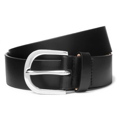 Paul Smith 3cm Black Leather Belt