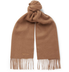 Paul Smith Fringed Cashmere Scarf