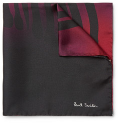 Paul Smith Printed Dégradé Silk Pocket Square