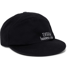 Off-White Printed Cotton-Twill Baseball Cap