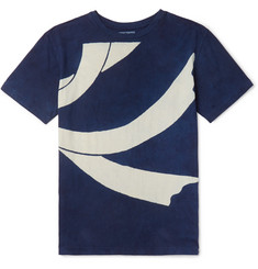 Blue Blue Japan - Slim-Fit Printed Cotton-Jersey T-Shirt