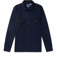 Blue Blue Japan - Indigo-Dyed Cotton-Twill Shirt