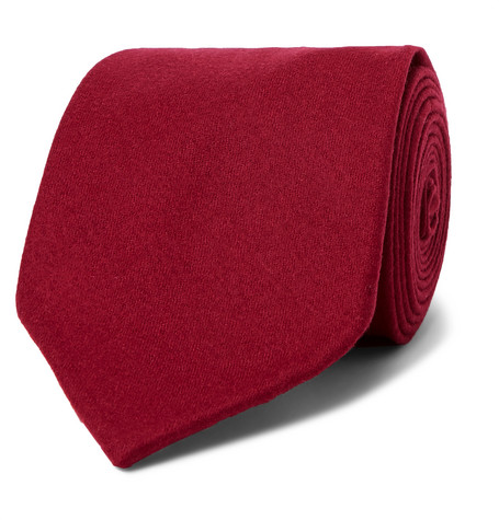 HUSBANDS 8CM WOOL TIE