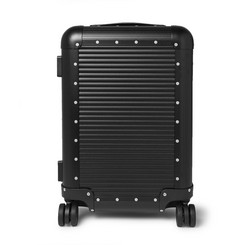 Spinner 53cm Aluminium Carry-on Suitcase - Black