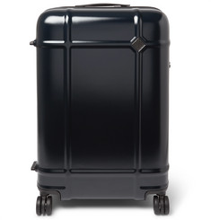 Fabbrica Pelletterie Milano - Globe Spinner 68cm Leather-Trimmed Polycarbonate Suitcase