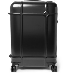 Globe Spinner 68cm Polycarbonate Suitcase - Black