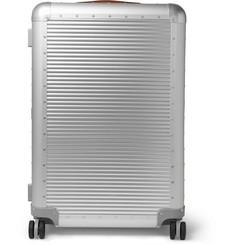 Spinner 76cm Aluminium Suitcase - Silver