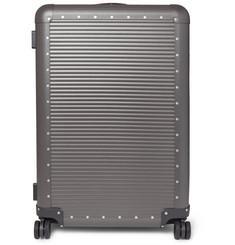 Spinner 76cm Aluminium Suitcase - Gray
