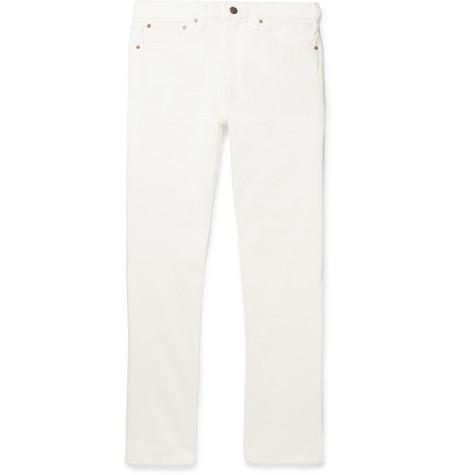 ORSLOW 107 Slim-Fit Denim Jeans - White