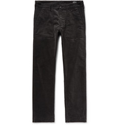 OrSlow Slim-Fit Stretch-Cotton Corduroy Trousers