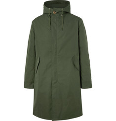 De Bonne Facture - Organic Cotton-Canvas Hooded Parka