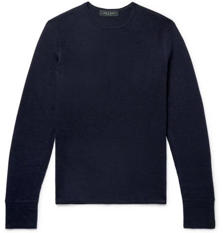 Gregory Slim Fit Merino Wool Blend Sweater by Rag & Bone