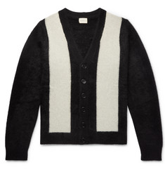 SIMON MILLER Striped Cashmere Cardigan