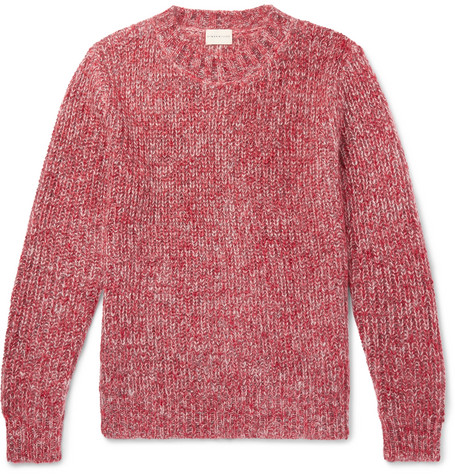 SIMON MILLER Mélange Mohair, Wool, Paper and Silk-Blend Sweater
