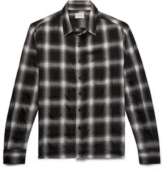 SIMON MILLER - Checked Wool-Blend Shirt