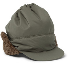 And Wander Fleece-Trimmed Ripstop PrimaLoft Cap