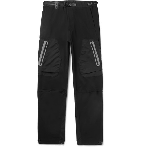 And Wander Reflective-Trimmed Shell Tapered Trousers