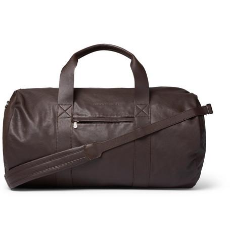 Full Grain Brunello Cucinelli Holdall Leather 7Z5gv5wxq
