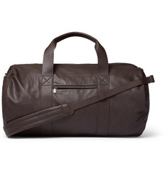Brunello Cucinelli Full-Grain Leather Holdall