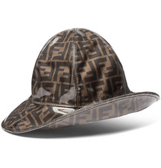 Fendi Waterproof Logo-Print Bucket Hat
