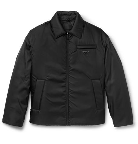 Padded Gabardine Jacket by Prada