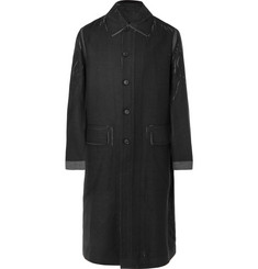 Prada Printed Wool Coat