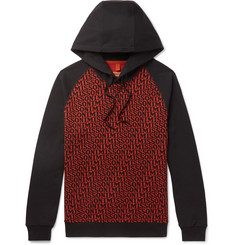 Missoni Logo-Print Loopback Cotton-Jersey Hoodie