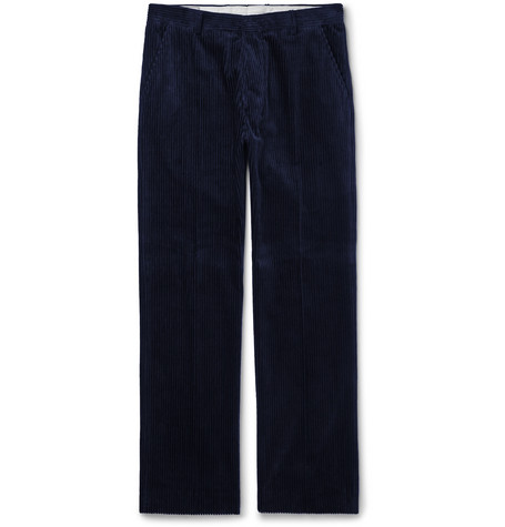 Cotton Corduroy Trousers by Ami