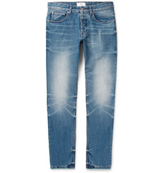 AMI - Slim-Fit Washed-Denim Jeans